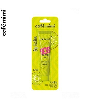 Balsam do ust SOS - KIWI - Siła olejków, 15 ml - CAFE MIMI