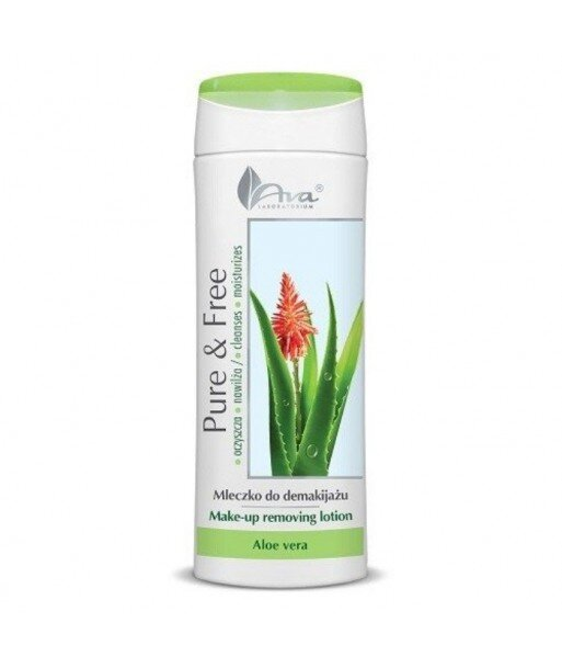 Pure & Free - mleczko do demakijażu Aloe Ver 250ml