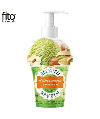 Deser dla urody Krem-mydło do rąk Lody pistacjowe, 320 ml - Fitokosmetik