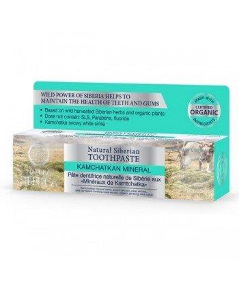 Syberyjska pasta do zębów wzmacniająca szkliwo - Minerały Kamczatki