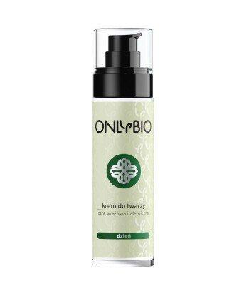 Krem do twarzy na dzień cera wrażliwa i alergiczna 50 ml OnlyBio