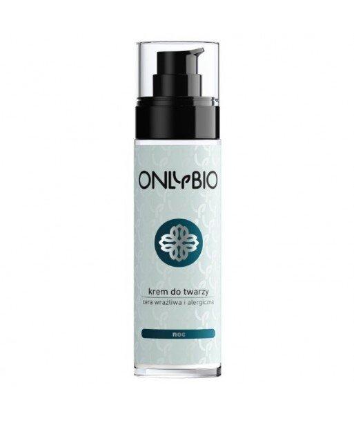 Krem do twarzy na noc cera wrazliwa i alergiczna 50 ml OnlyBio
