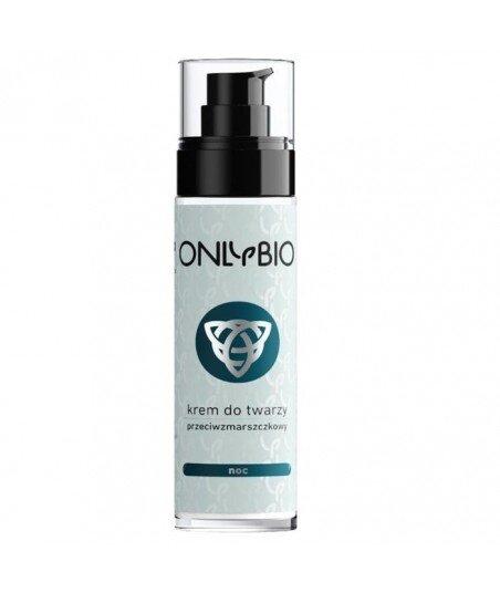 Krem do twarzy na noc przeciwzmarszczkowy 50 ml OnlyBio