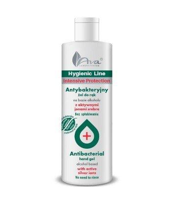 Hygienic - Antybakteryjny żel do rąk na bazie alkoholu z aktywnymi jonami srebra 200 ml