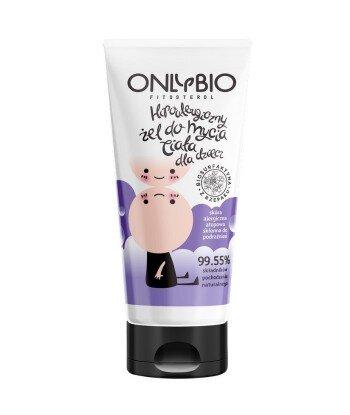 Żel do mycia ciała dla dzieci hipoalergiczny 200 ml TUBA OnlyBio