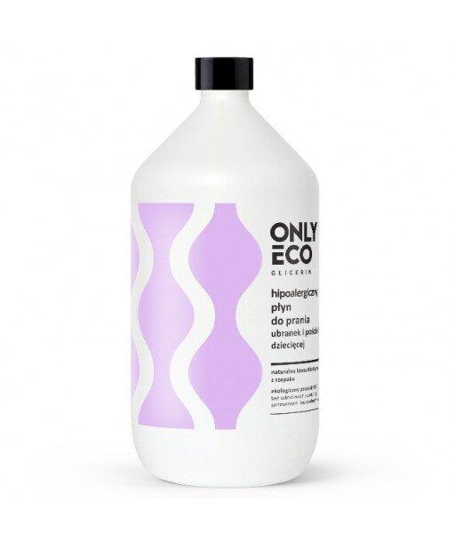 Płyn do prania ubranek i pościeli dziecięcej hipoalergiczny1000 ml ONLYECO