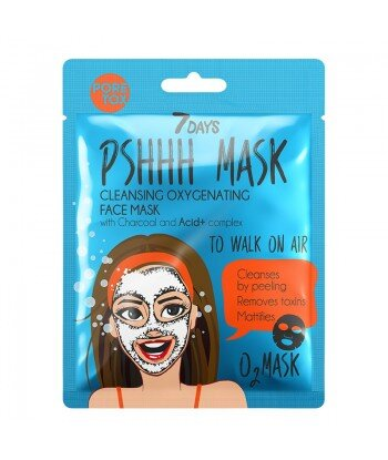 Oczyszczająca maska do twarzy TO WALK ON AIR z węglem drzewnym, 25g
