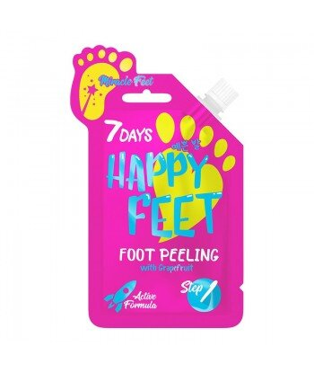 Scrub do stóp MIRACLE FEET z grejpfrutem, 25 g