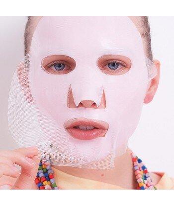 Różowa maska do twarzy ICE CREAM Truskawki i śmietanka, 25g