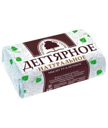 Mydło Dziegciowe w Kostce, Antyseptyczne, Przeciwłojotokowe, 90 g