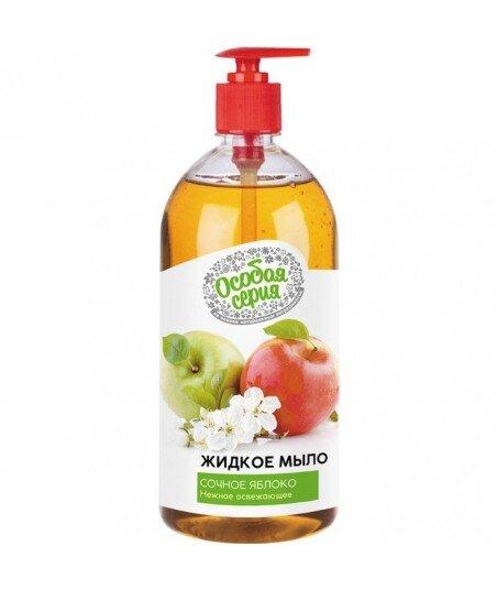 Mydło w płynie Soczyste jabłko, delikatne, orzeźwiające, 1000 ml