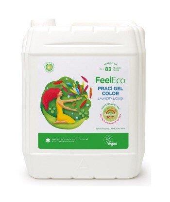 Żel do Prania Kolorowych i Ciemnych Tkanin, Feel Eco, 5000ml