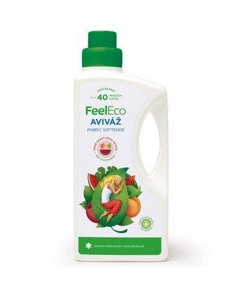 Ekologiczny płyn zmiękczający do tkanin o naturalnym owocowym zapachu, Feel Eco, 1000ml
