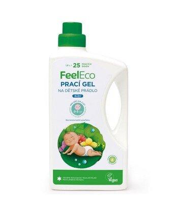 Żel do prania odzieży dziecięcej, Feel Eco, 1500ml