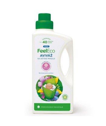 Płyn do płukania dziecięcych ubranek, Feel Eco, 1000ml