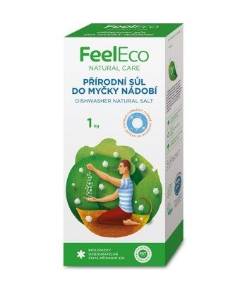 Naturalna sól do zmywarek, Feel Eco, 1000g