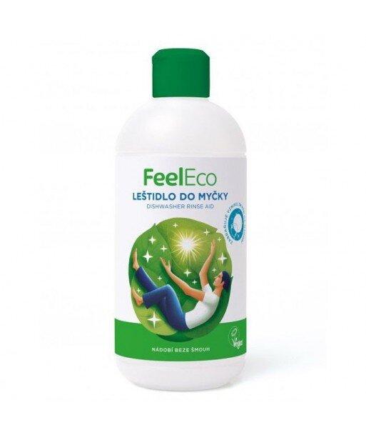 Płyn nabłyszczający do zmywarek, Feel Eco, 500ml