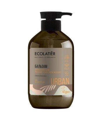 Wzmacniający balsam do osłabionych włosów Shea i magnolia, 400 ml, ECOLATIER URBAN