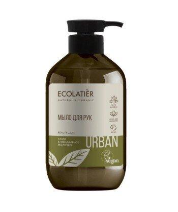Mydło w płynie do rąk Aloes i mleko migdałowe, 400 ml, ECOLATIER URBAN