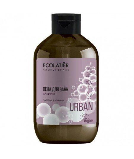 Pianka do kąpieli Antistress Lawenda i nektarynka, 600 ml, ECOLATIER URBAN