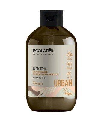 Szampon do włosów osłabionych Wzmacniający Shea i magnolia, 600 ml, ECOLATIER URBAN