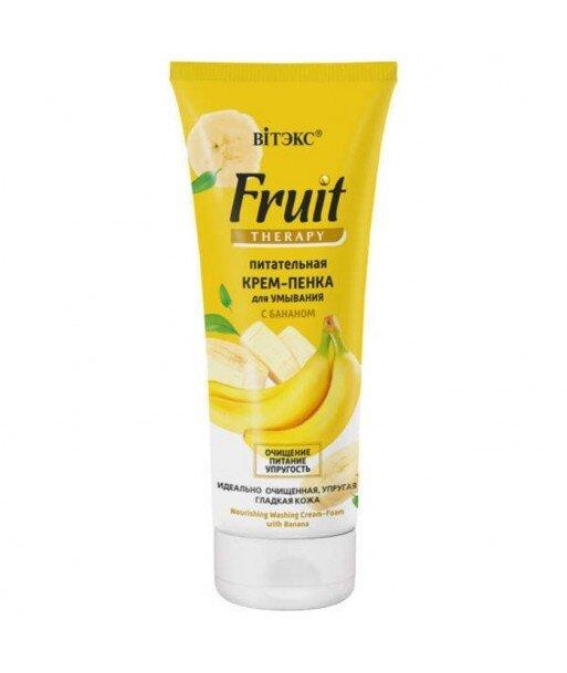 Odżywcza pianka do mycia twarzy z Bananem, 200 ml Fruit Therapy