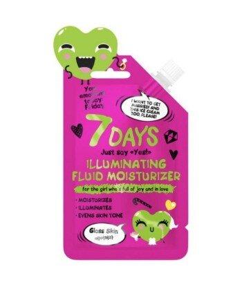 Rozświetlający i nawilżający fluid do twarzy, 25ml