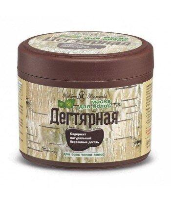 Dziegciowa Maska do Włosów i Skóry Głowy, Nevskaya Cosmetica, 300ml