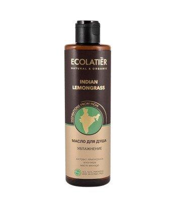 Nawilżający olejek pod prysznic Indyjska Trawa Cytrynowa, 250 ml, ECOLATIER