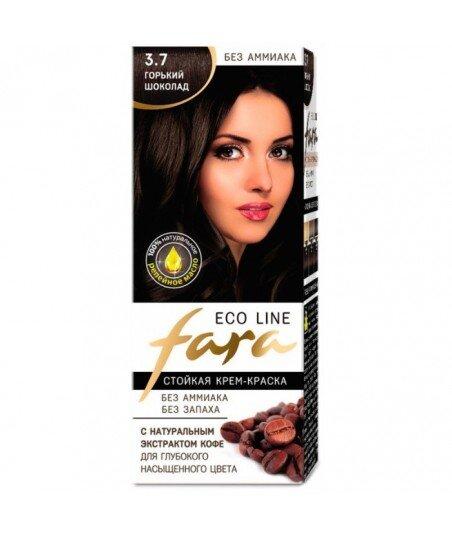 FARA Eco Line 3.7 długotrwała farba do włosów - GORZKA CZEKOLADA
