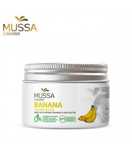 Masło do ciała z ekologicznych bananów z wysp kanaryjskich. 70ml