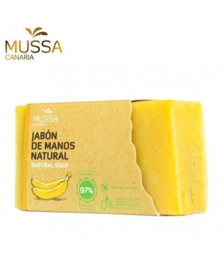 Mydło do rąk ręcznie robione z ekologicznymi bananami z wysp kanaryjskich 100g
