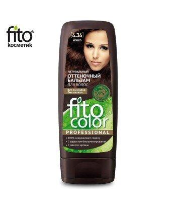 Naturalny balsam KOLORYZUJĄCY do włosów - MOKKA 4,36 - FITO COLOR