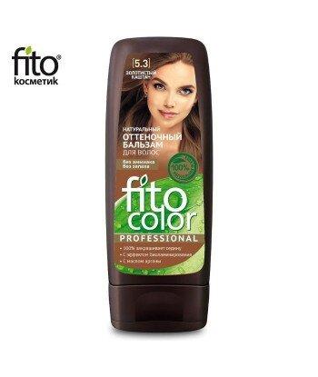 Naturalny balsam KOLORYZUJĄCY do włosów - ZŁOTY KASZTAN 5,3 - FITO COLOR