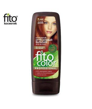 Naturalny balsam KOLORYZUJĄCY do włosów - CZERWONA MIEDŹ 5,46 - FITO COLOR