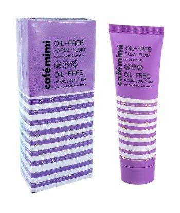 Matujący krem do problematycznej skóry twarzy (Oil - Free Facial Fluid) - bez olejków - CAFE MIMI