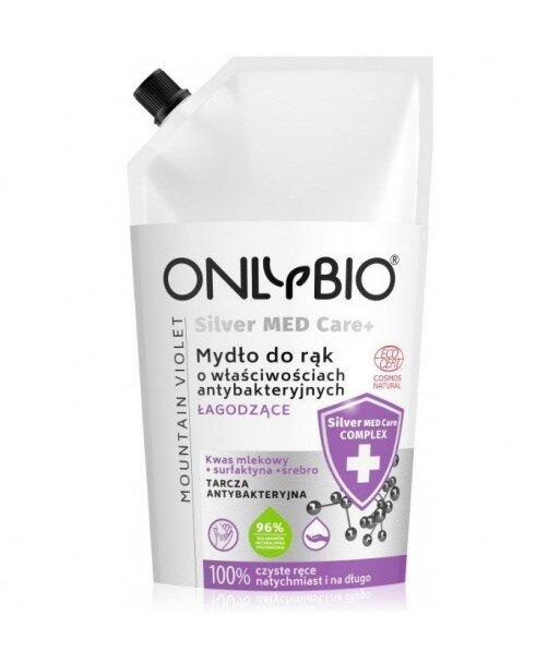 Mydło o właściwościach antybakteryjnych nawilżające 500 ml Silver Med Care+ OnlyBio