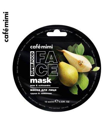Maseczka do twarzy Gruszka i Cytryniec 10 ml - CAFE MIMI