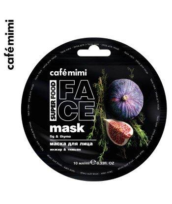 Maseczka do twarzy Fig i Tymianek 10 ml - CAFE MIMI