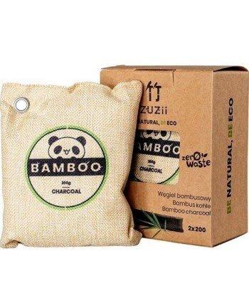 Węgiel bambusowy, naturalny osuszacz powietrza 2 x 200 g