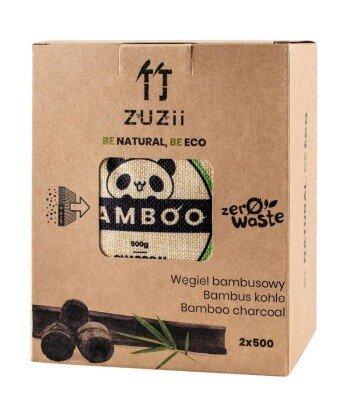 Węgiel bambusowy, naturalny osuszacz powietrza 2 x 500 g