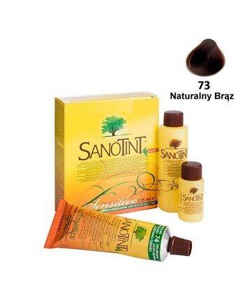 Farba do włosów Natural Brown Naturalny Brąz 73 Sensitive Sanotint
