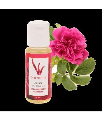 Olejek do twarzy - Róża japońska i szafran 55 ml
