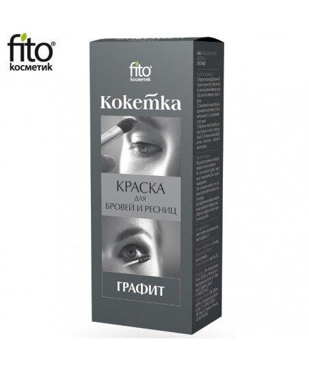 HENNA DO BRWI I RZĘS Kokietka - GRAFIT, Fitocosmetic