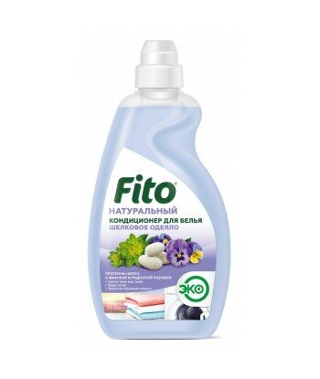 Naturalny płyn do zmiękczania tkanin Jedwabny delikatność, 980 ml Fitocosmetik