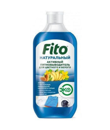 Naturalny aktywny odplamiacz do kolorów i bieli, 490 ml Fitocosmetik