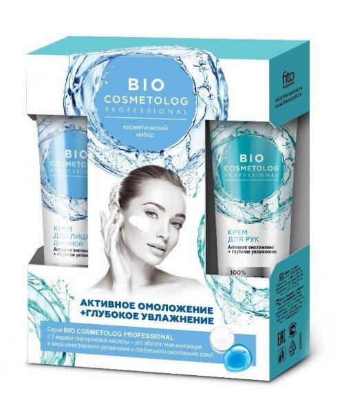 Zestaw upominkowy z serii Bio Cosmetolog Professional (Krem do twarzy 45ml + Krem do rąk 45ml) Fitocosmetik