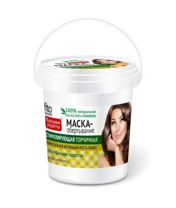 Gorczycowa maska przyśpieszająca odrost włosów, 155ml, Fitocosmetik