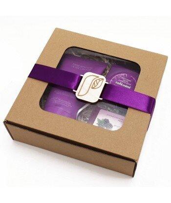 Fioletowy zestaw prezentowy