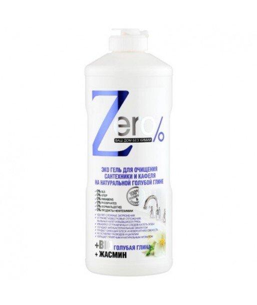 ZERO - Ekologiczny Żel do Czyszczenia techniki sanitarnej - niebieska glinka, jaśmin